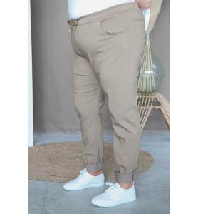 Pantalon C'mélodie taupe