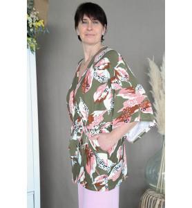 kimono vert