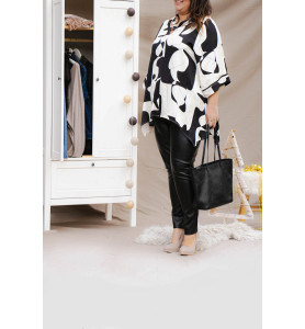 blouse imprimée JMP coté